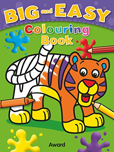 Big & Easy Colouring Book: Tiger (Big and Easy): Sophie Giles