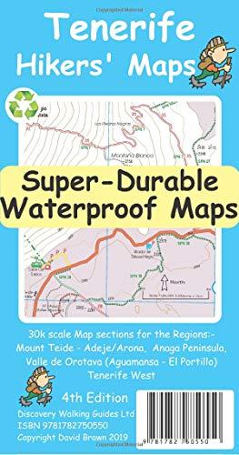 9781782750550: Tenerife Hikers' Super-Durable Maps