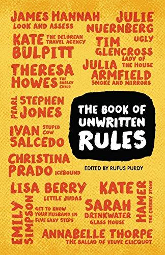 The Book of Unwritten Rules: Glencross, Tim; Hamer,