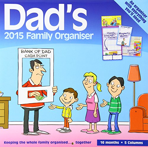9781782934974: Dads Family Organiser Wall: 12x12 Planner