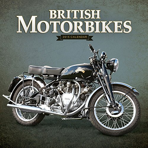 9781782935100: British Motorbikes Wall (Square Wirestitched)