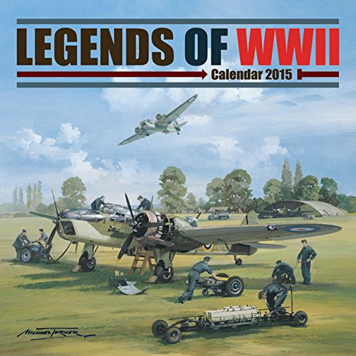 9781782935346: Legends of WWII Wall: 12x12 (Square)
