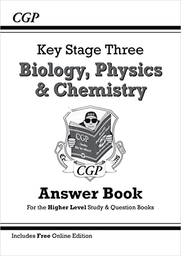 9781782941088: KS3 Science Answers for Study & Question Books (Biology/Chemistry/Physics) - Higher