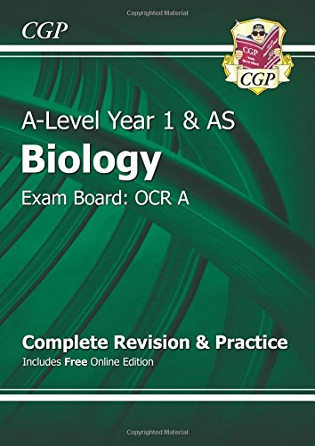 New 2015 A-Level Biology: OCR A Year 1 & AS Complete Revision & Practice with Online ...