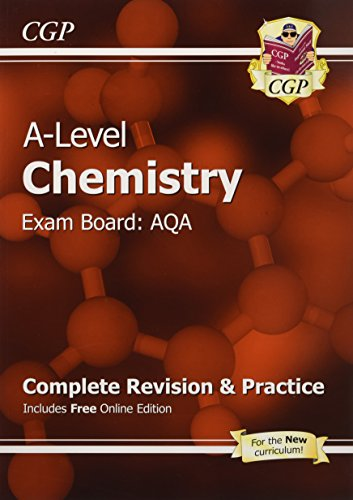 9781782943006: A-Level Chemistry: AQA Year 1 & 2 Complete Revision & Practice with Online Edition