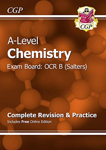 9781782943037: New 2015 A-Level Chemistry: OCR B Year 1 & 2 Complete Revision & Practice with Online Edition