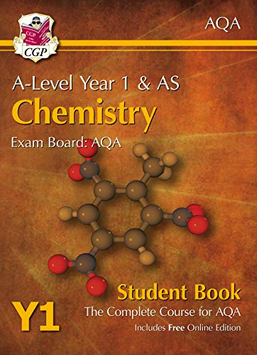 9781782943211: A-Level Chemistry for AQA: Year 1 & AS Student Book with Online Edition