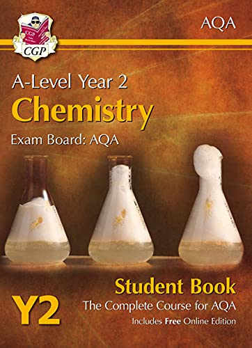 9781782943266: A-Level Chemistry for AQA: Year 2 Student Book with Online Edition