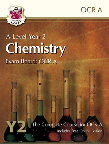 9781782943273: A-Level Chemistry for OCR A: Year 2 Student Book with Online Edition (CGP A-Level Chemistry)