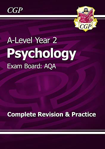 New 2015 A-Level Psychology: AQA Year 2 Complete Revision & Practice: CGP Books