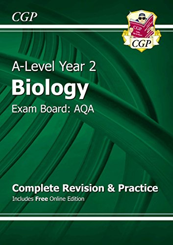 9781782943365: A-Level Biology: AQA Year 2 Complete Revision & Practice with Online Edition