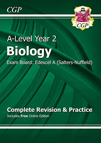 9781782943389: A-Level Biology: Edexcel A Year 2 Complete Revision & Practice with Online Edition