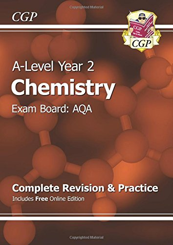 9781782943396: A-Level Chemistry: AQA Year 2 Complete Revision & Practice with Online Edition (CGP A-Level Chemistry)