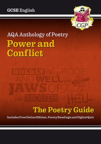 9781782943617: GCSE English Literature AQA Poetry Guide: Power & Conflict Anthology - for the Grade 9-1 Course: ideal for catch-up, assessments and exams in 2021 and 2022 (CGP GCSE English 9-1 Revision)
