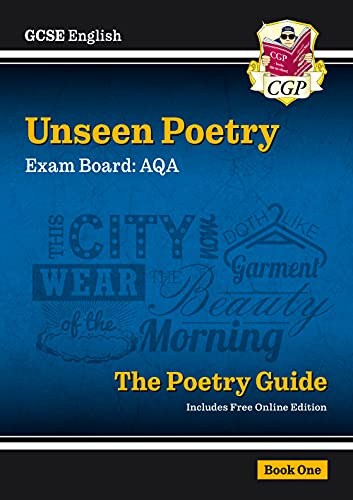 9781782943648: New Grade 9-1 GCSE English Literature AQA Unseen Poetry Guide - Book 1