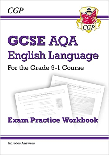 9781782943709: GCSE English Language AQA Exam Practice Workbook - for the Grade 9-1 Course (includes Answers): ideal for catch-up, assessments and exams in 2021 and 2022 (CGP GCSE English 9-1 Revision)