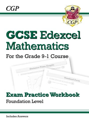 New GCSE Maths Edexcel Exam Practice Workbook: Foundation - For the Grade 9-1Course (with Answers):...