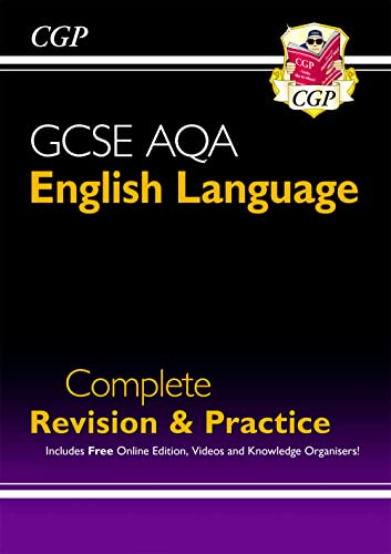 9781782944140: GCSE English Language AQA Complete Revision & Practice - Grade 9-1 Course (with Online Edition): perfect for catch-up, assessments and exams in 2021 and 2022 (CGP GCSE English 9-1 Revision)