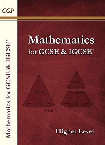 New Maths for GCSE and IGCSE Textbook, Higher (for the Grade 9-1 Course): CGP Books