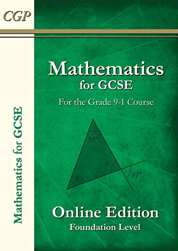 9781782944577: New Maths for GCSE Textbook: Online Edition with Answers - Foundation (for the Grade 9-1 Course)