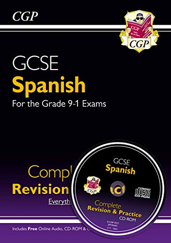 9781782945451: GCSE Spanish Complete Revision & Practice (with CD & Online Edition) - Grade 9-1 Course (CGP GCSE Spanish 9-1 Revision)