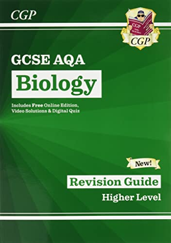 New Grade 9-1 GCSE Biology: AQA Revision Guide with Online Edition: CGP Books