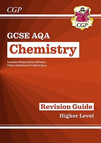 9781782945574: Grade 9-1 GCSE Chemistry: AQA Revision Guide with Online Edition - Higher: ideal for catch-up, assessments and exams in 2021 and 2022 (CGP GCSE Chemistry 9-1 Revision)