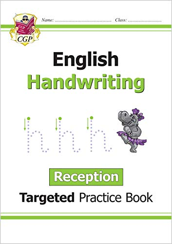 9781782946946: English Targeted Practice Book: Handwriting - Reception: superb for catch-up and learning at home (CGP Reception)