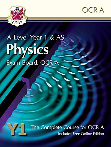 9781782947905: A-Level Physics for OCR A: Year 1 & AS Student Book with Onl