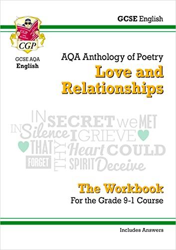 New GCSE English Literature AQA Poetry Workbook: CGP Books