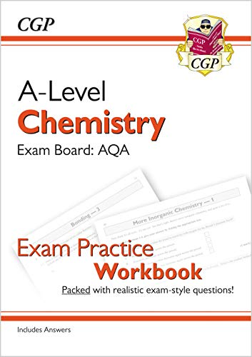 9781782949138: New A-Level Chemistry: AQA Year 1 & 2 Exam Practice Workbook - includes Answers (CGP A-Level Chemistry)