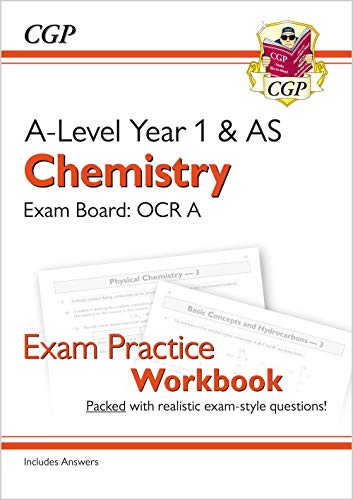 9781782949206: New A-Level Chemistry: OCR A Year 1 & AS Exam Practice Workbook - includes Answers (CGP A-Level Chemistry)