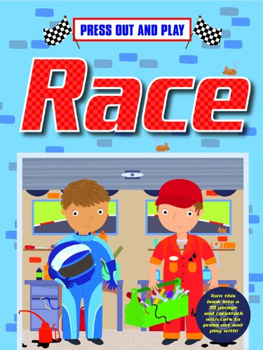 Race: Press out and Play (Press Out & Play): Gemma Cooper