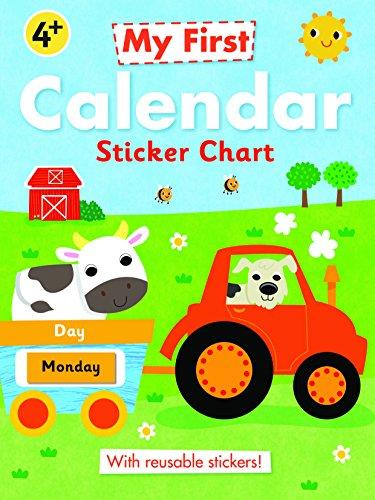 My First Calendar Sticker Chart (My First Sticker Chart): Autumn Publishing Ltd