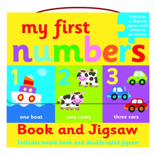 9781782961093: My First Numbers- Book and Jigsaw Puzzle Set