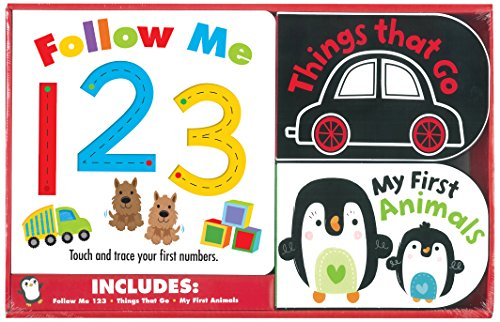 9781782964193: Follow Me 123/Things That Go/My First Animals (Box of Fun)