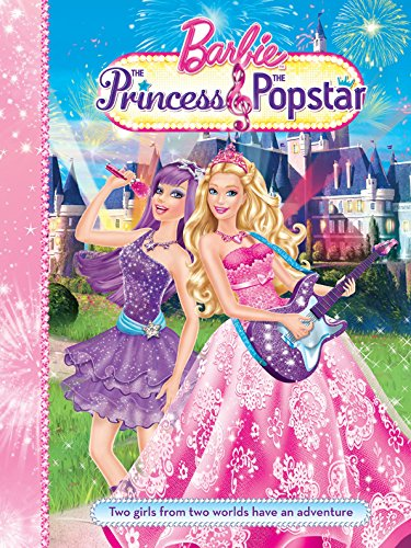 barbie and the princess and the popstar story book by mattel autumn