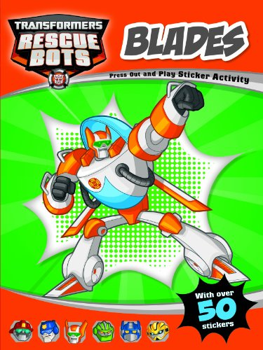 9781782964841: Rescue Bots Blades Press Out and Play