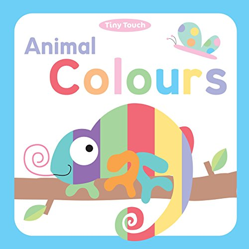 Tiny Touch Animal Colours: Autumn Publishing