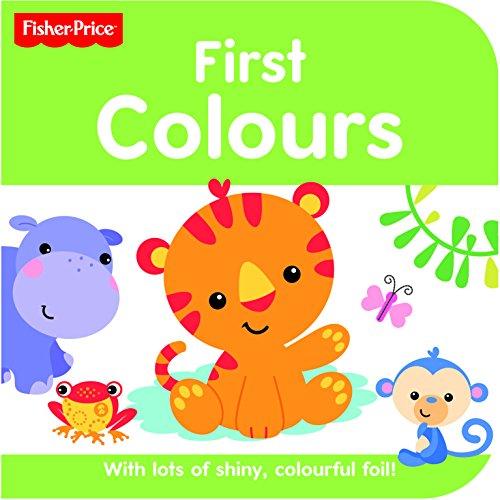 Fisher Price Rainforest Friends Colours (Fisher Price Foil Board Books): Fisher-Price