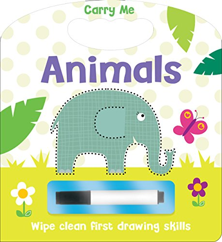 9781782966128: Carry Me Wipe Clean Drawing Animals