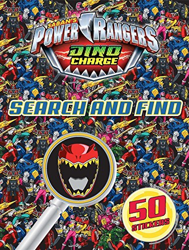 9781782968269: Power Rangers Search and Find 2015