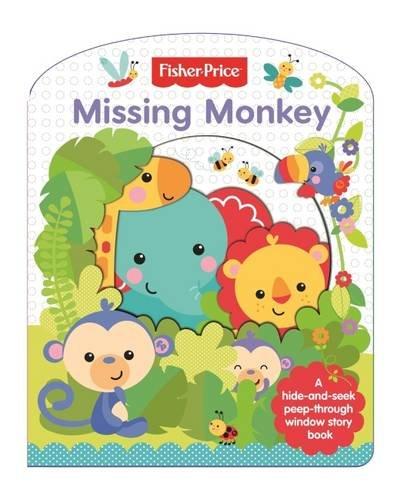 Fisher Price Cut Through: Missing Monkey: Autumn Publishing