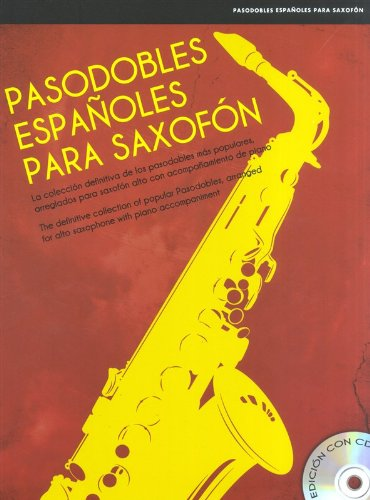 9781783050123: Pasodobles Espanoles Para Saxofon