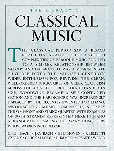 The Library of Classical Music Piano Solo: Lung, Sam (EDT)/