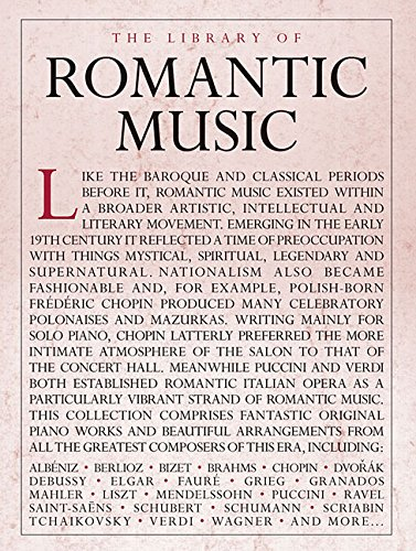The Library of Romantic Music Piano Solo: Lung, Sam (EDT)/