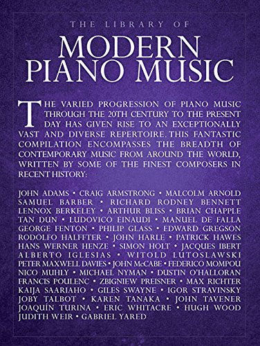 The Library Of Modern Piano Music: Hal Leonard Corp,