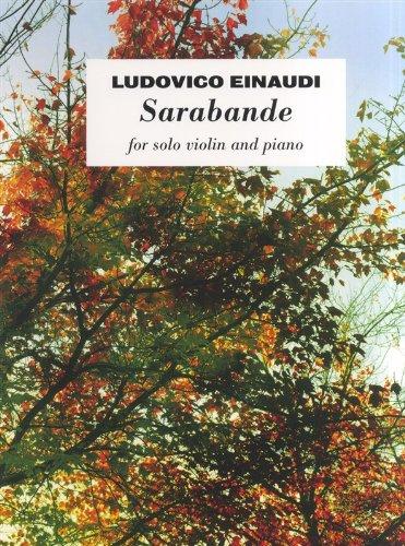 9781783053124: Ludovico Einaudi: Sarabande