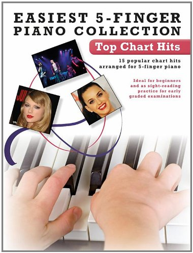Easiest 5-Finger Piano Collection: Top Chart Hits: Various