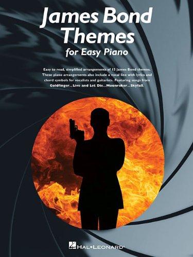 James Bond Themes (Easy Piano Songbook)